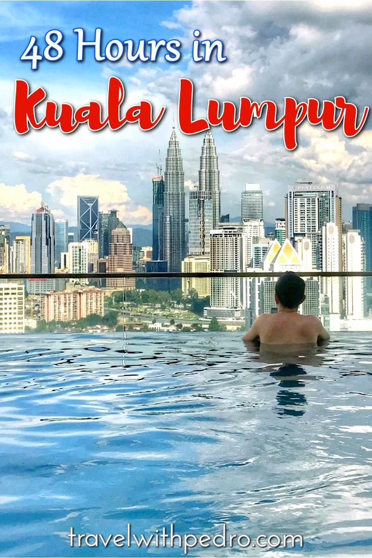 In this full itinerary, I'll share with you what to do in Kuala Lumpur in two days, including places to go for a drink, eat and where to sleep in Kuala Lumpur.