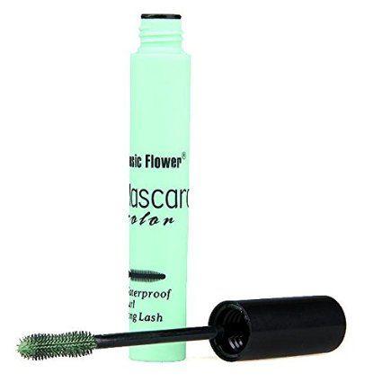 Green Mascara Long Lengthening Volume Curl Eyelash Grower Makeup Cosplay: Amazon.co.uk: Beauty