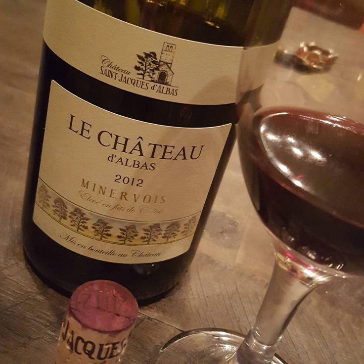 This was a gorgeous #wine from #ChâteauStJaquesdAlbas #minervois #languedoc in southern #France.  #mediterranean  #AOP #AOC #Syrah  #Grenache  chateaustjaques.com