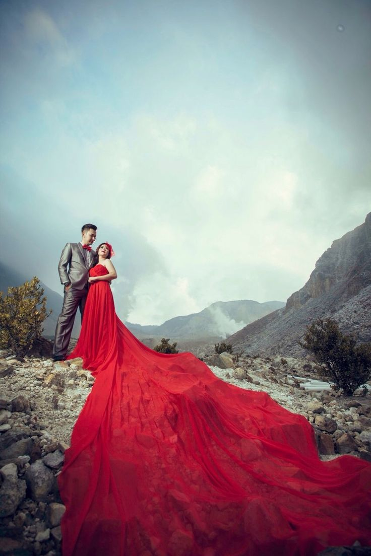 King and Queen of papandayan