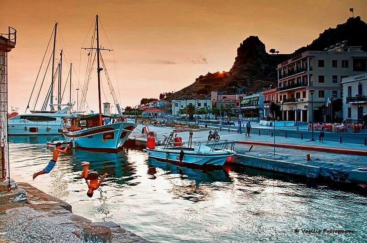 GREECE CHANNEL  Myrina -Lemnos island