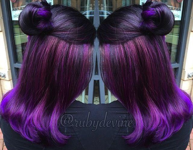 Purple Hair Dye Styles: Best 25+ Purple Hair Colors Ideas On Pinterest