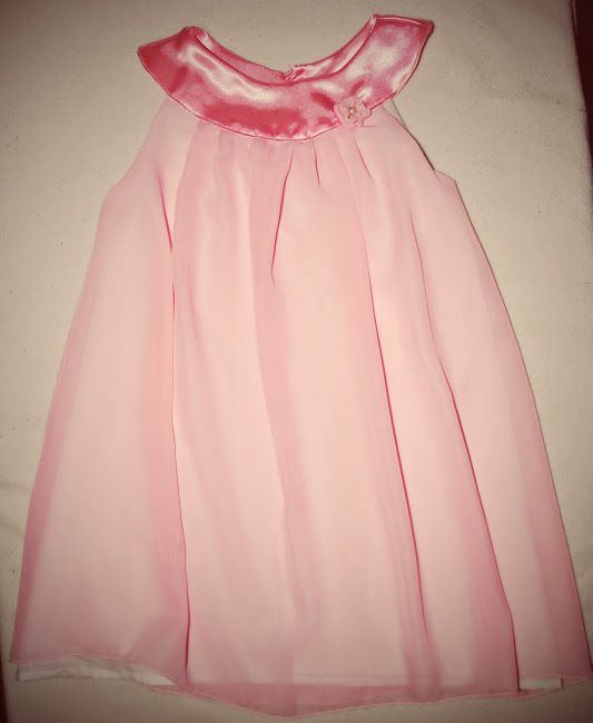 Chiffon silk dress