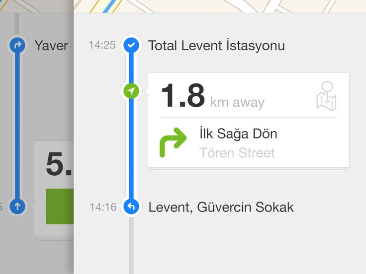 Navigation App by Hakan Yalcin (istanbul)