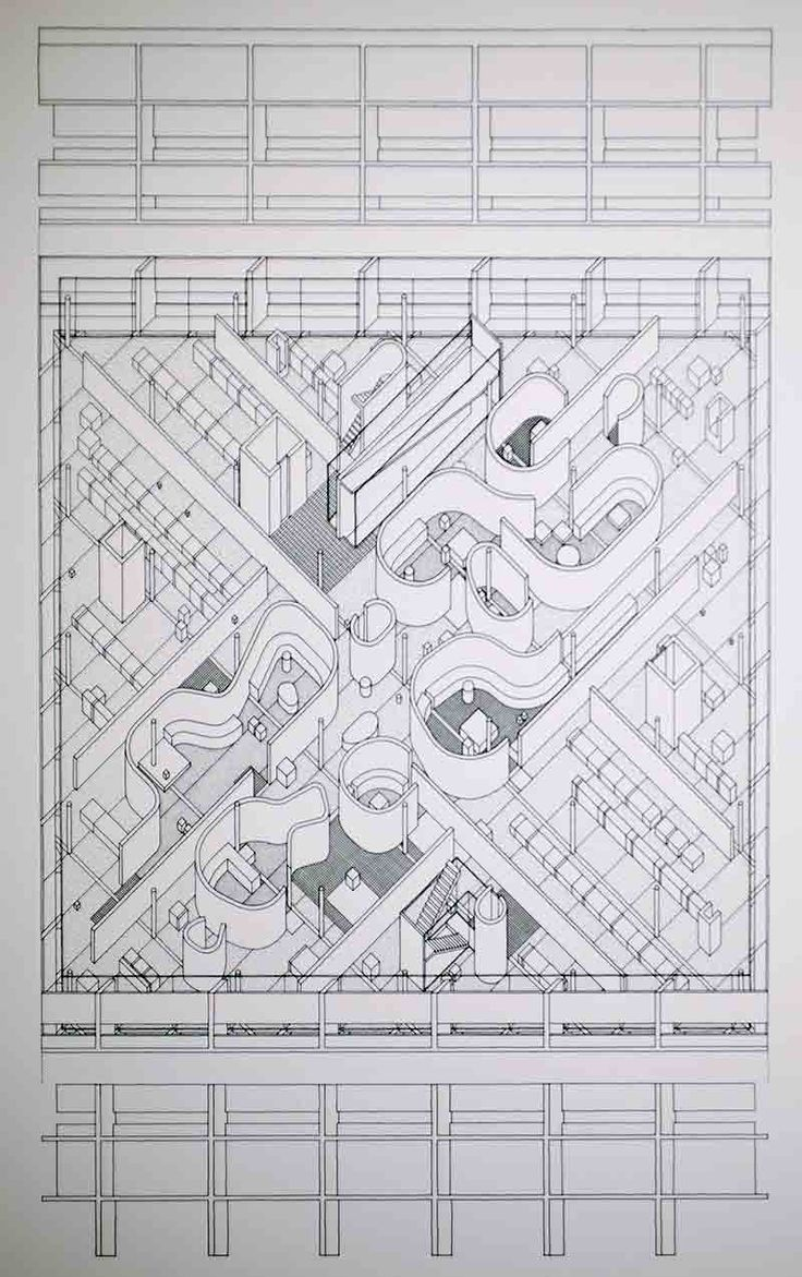 John Hejduk. Three Projects. New York: Cooper Union School of Art and Architecture, 1969.