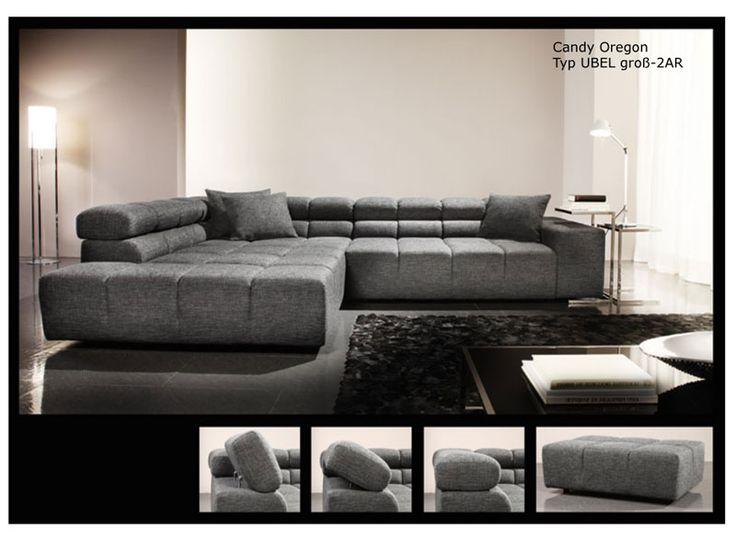 peste 1000 de idei despre polstergarnituren pe pinterest ecksofa braun moderne sofas i. Black Bedroom Furniture Sets. Home Design Ideas