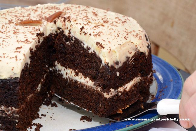 Chocolate carrot cake http://rosemaryandporkbelly.co.uk/features/in-search-of-cake/