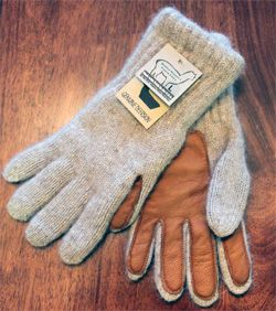 A Surprising American Made Find - Alpaca Socks + Gloves Made in Massachusetts.  Driving Gloves from American Alpaca