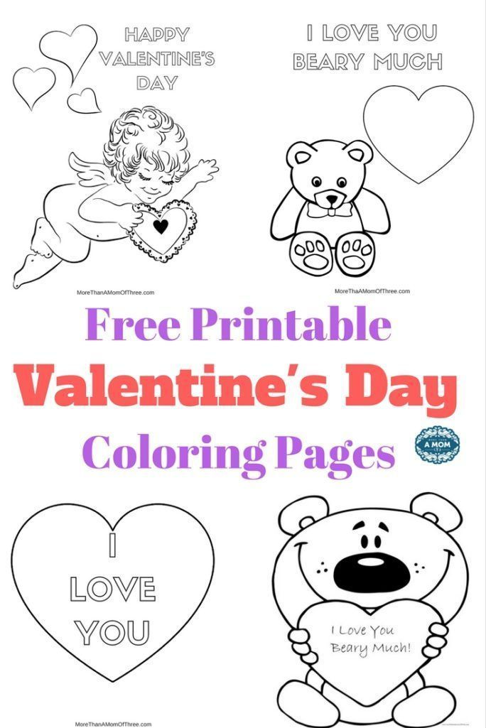543 Free, Printable Valentine's Day Coloring Pages | 1025x684