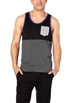 Asexual/demisexual pride colors Guys Tank Tops | rue21