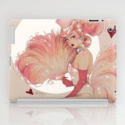Happy New Year 2015 iPad Case by geminiart - $60.00 #christmas #showgirl #cabaret #pinup #feathers #ipad #case #retro #vintage