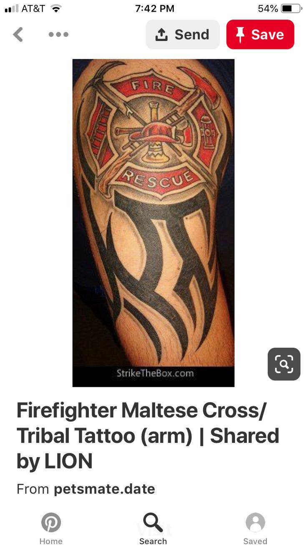 32+ Best Maltese cross tattoo small ideas