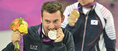 Pistola d'argento, Tesconi sul podio - Olimpiadi 2012 Corriere.it