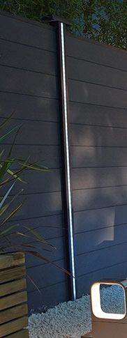 1000 id es propos de clairage solaire ext rieur sur for Poteau led exterieur
