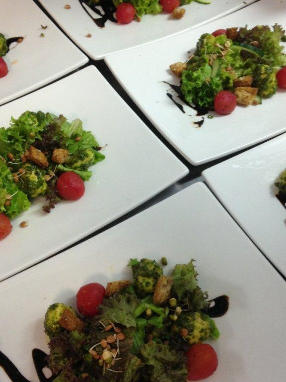 Clico Plated Salad