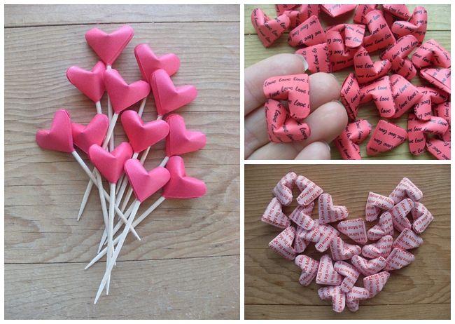 Wedding Blog UK ~ Wedding Ideas ~ Before The Big Day: Fun Origami Wedding Favours & Wedding Cake Toppers