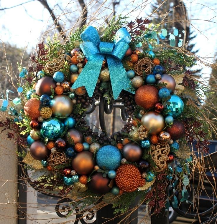 Wianek świąteczny na drzwi Magiczne Święta - ozdoby świąteczne, dekoracje na Boże Narodzenie