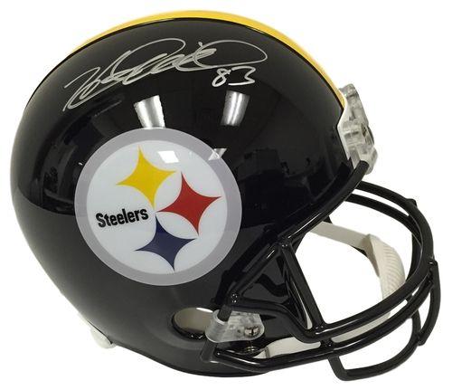 Heath Miller Signed Pittsburgh Steelers Full Size Replica Helmet JSA
