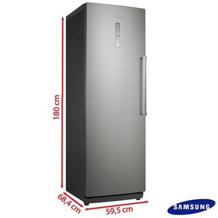 Imagem para Freezer Vertical Samsung de 277 Litros Frost Free Inox Look - RZ28H61507F/AZ a partir de Fast Shop