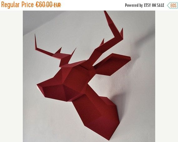 1000 id es sur le th me tete de cerf origami sur pinterest. Black Bedroom Furniture Sets. Home Design Ideas