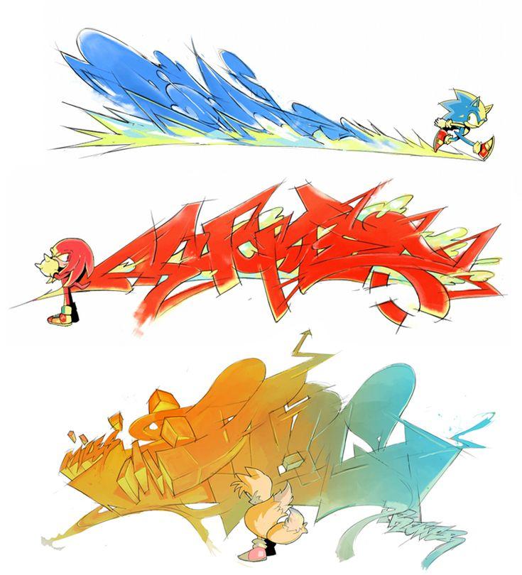 Sonic Heroes team by sujinee.deviantart.com on @deviantART