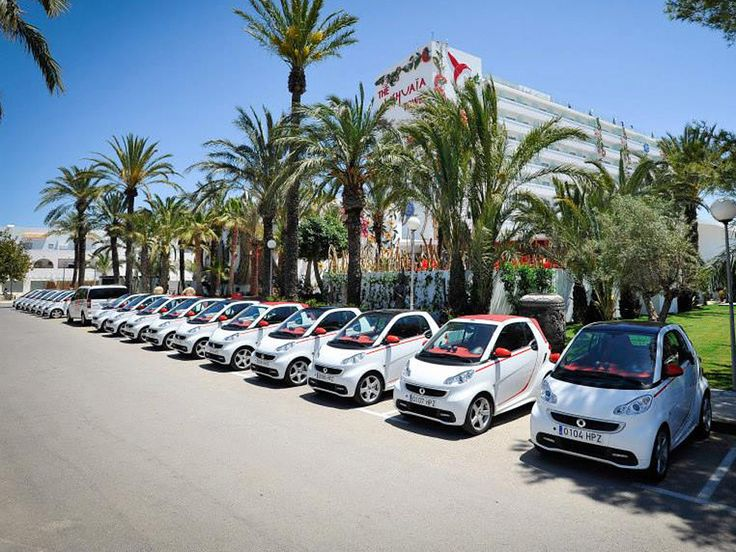 Mercedes Benz Smart Car for Ushuaïa Ibiza Beach Hotel