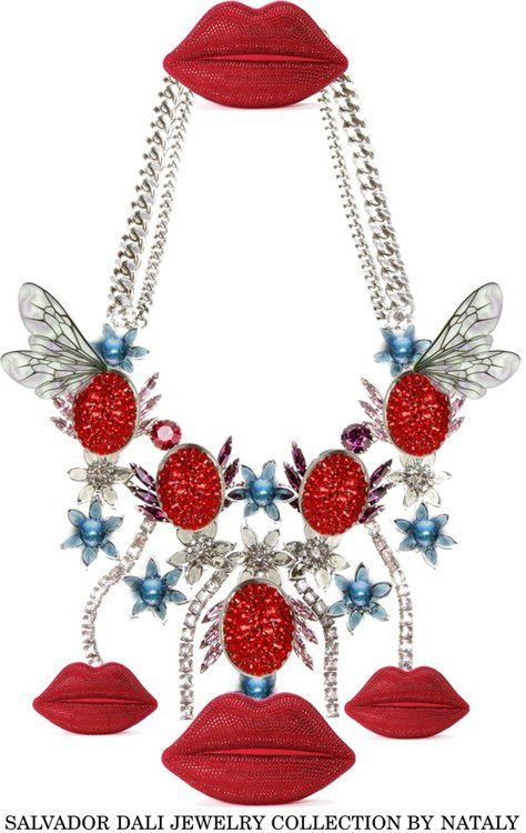 What a necklace! SALVADOR DALI JEWELRY COLLECTION BY NATALY
