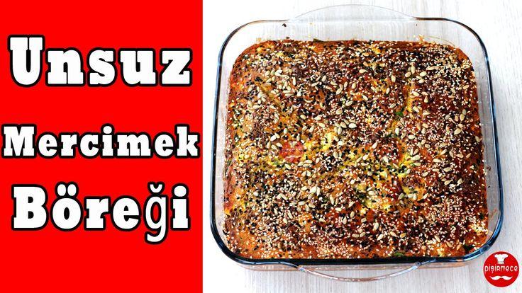 Unsuz Mercimek Böreği | Pişirmece | Yemek Tarifleri