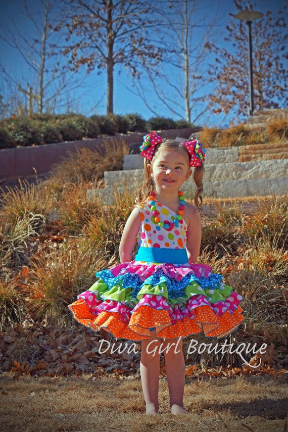 Girls Boutique Birthday Dress Pageant Dress by divagirlboutique, $149.50