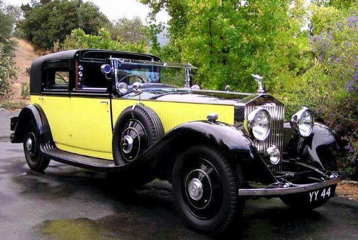1931 Rolls Royce II Sedanca de Ville by Barker