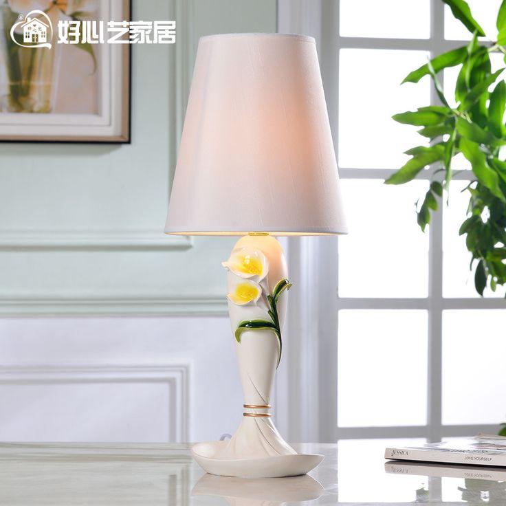 Настольная лампа новые цветы Моды свадебные украшения домочадца спальне глава лампы кровать