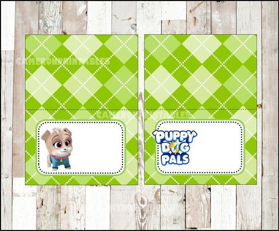 Puppy Dog Pals Food Labels Instant Download Puppy Dog Pals Food Tent Cards Printable Puppy Dog Pals Party Food Table Labels Perros Cachorros Fiesta De Cachorros Y Clipart