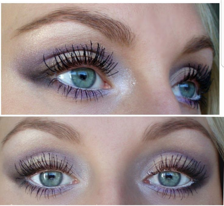 Soft purple eye makeup - josieholmlund