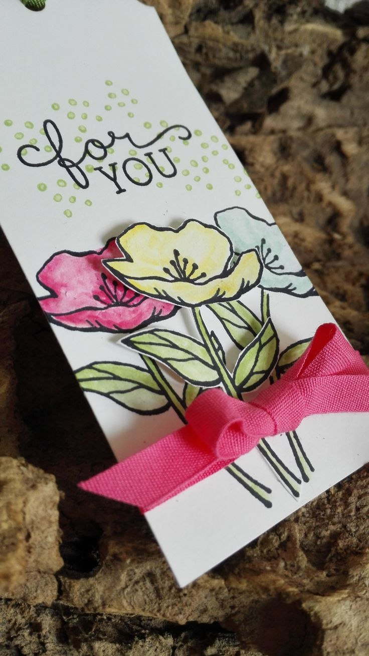 stampin up, birthday blooms, cadeau label, dospiration.nl, spring summer catalogus 2016