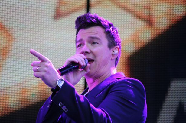 He surprised everyone when he dropped his first single in 23 years last month - and now 80s icon Rick Astley's comeback continues with a performance at V Fes...