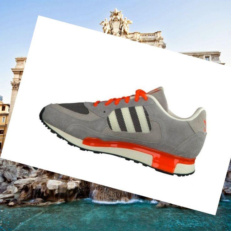 Traning shoes Adidas Zx Man 850 orange/grey/white HOT SALE! HOT PRICE!