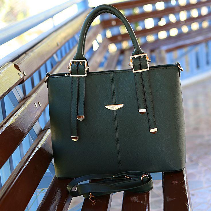 Yeşil Günlük Çanta - Ayakkabı Çanta Dükkanı