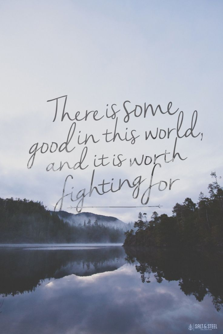 Thank you J.R.R. Tolkien for the reminder