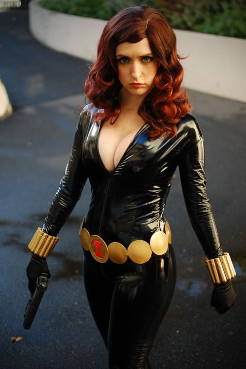 Angie griffin cosplays winter soldier and scarlet witch 9