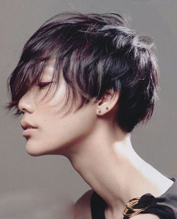 avant garde hairstyles | ... latest Japanese short hair Sassoon hairstyle avant-garde can not block