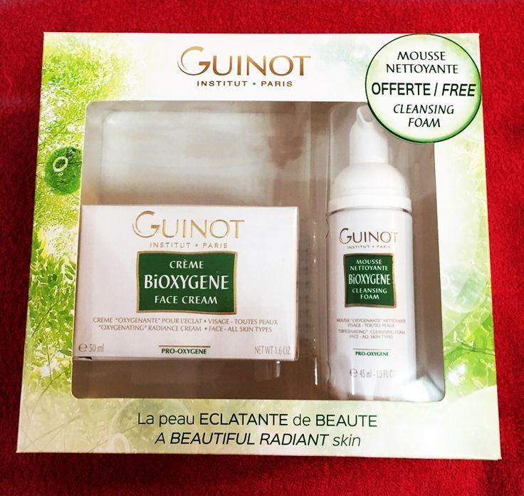 Guinot Christmas pack - Bioxygene 100% organic products