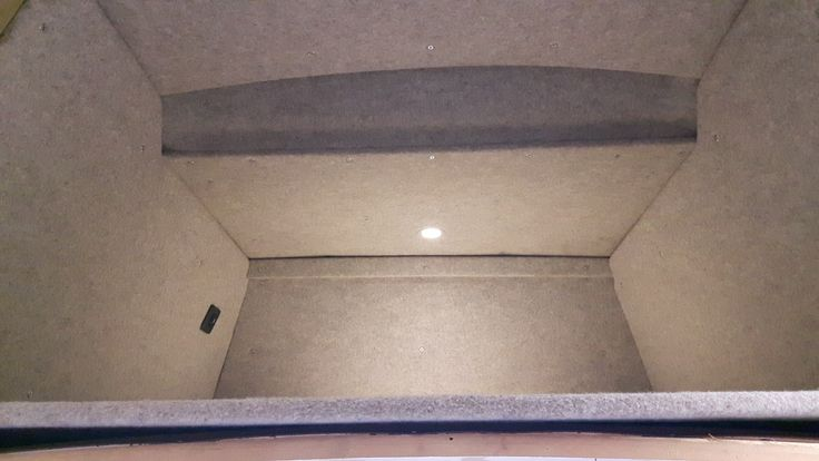 Roof bed with built in touch operated LED light and USB charger T25 High Top http://www.cloverfieldcampervans.co.uk/