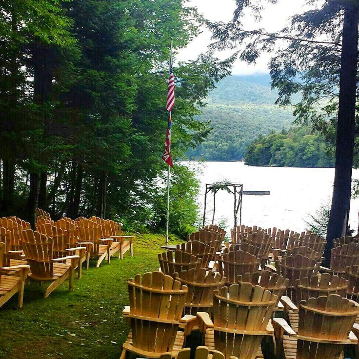 Adirondack Chairs #weddinggoals