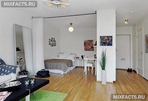Спальня-гостиная в одной комнате (фото)