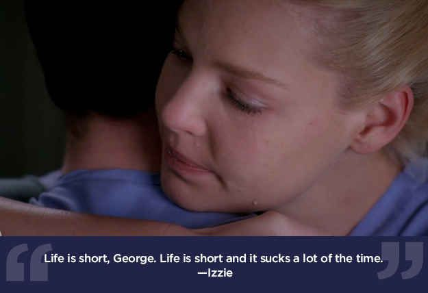 "life lessons from greys anatomy | 23 Life Lessons We Learned From ""Grey's Anatomy"""