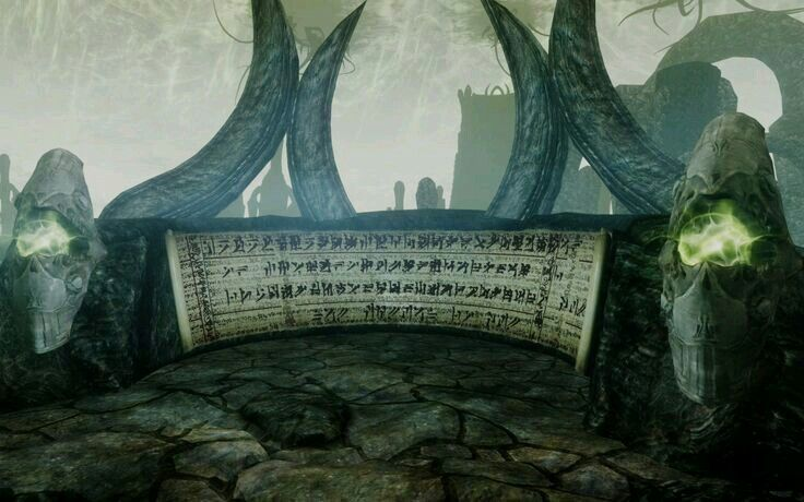 Word Wall In Apocrypha Eldritch Horror Skyrim Cthulhu Mythos