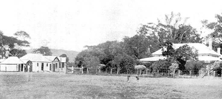 Faithfull creek Station where the boys held up the staff while they robbed the Euroa bank in Dec 1878