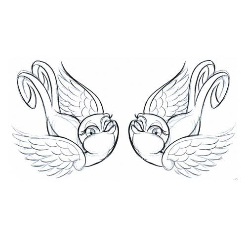 Love Tattoo Outlines: 39 Best Bird Outline Tattoo Images On Pinterest