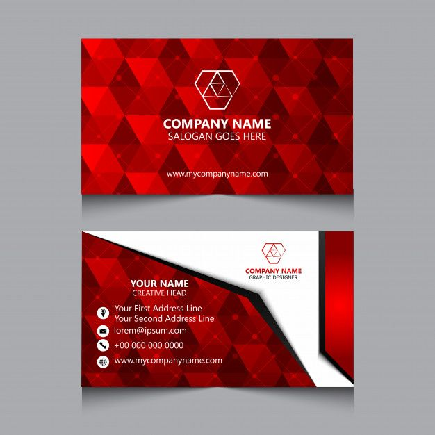 Abstract Business Card Business Cards Postcard Design Cards