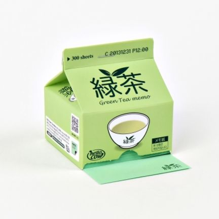 Green Tea Milk Notepad from MochiThings// super cute note pad